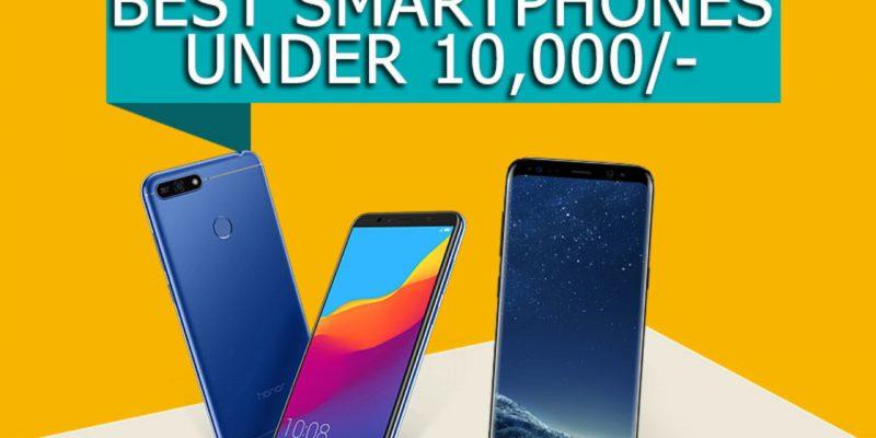 Top Smartphones in India Under 10k
